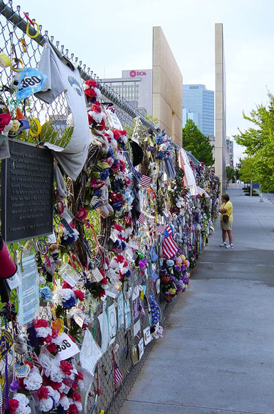 Memorial Fence photo by Dustin M. Ramsey