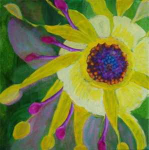 Sun and Bloom, painting by Mary Louise Chown