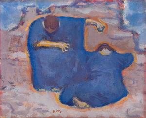 Trauernde Frauen by Koloman Moser, 1913